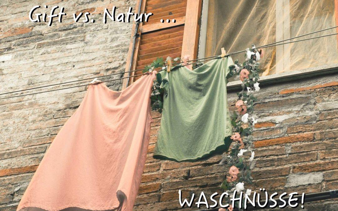 natürliche Waschnüsse vs. toxische Waschmittel